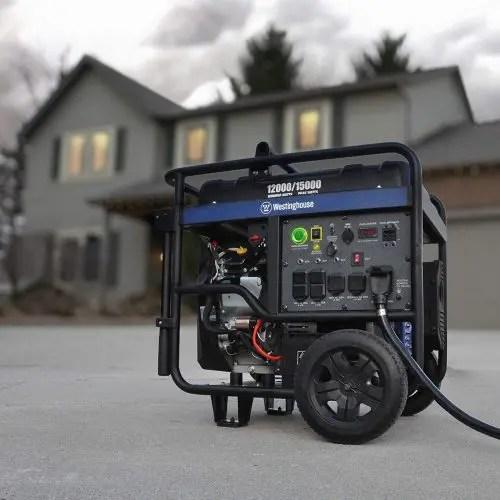 Westinghouse generator 12000 - Portable Electric Generator