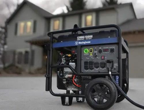 Westinghouse Generator 12000 - Portable Electric Generator Review