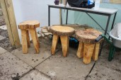 New stools made by our very own Tom Pinnegar