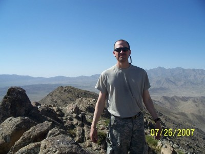 CPT Carter at 9280 feet