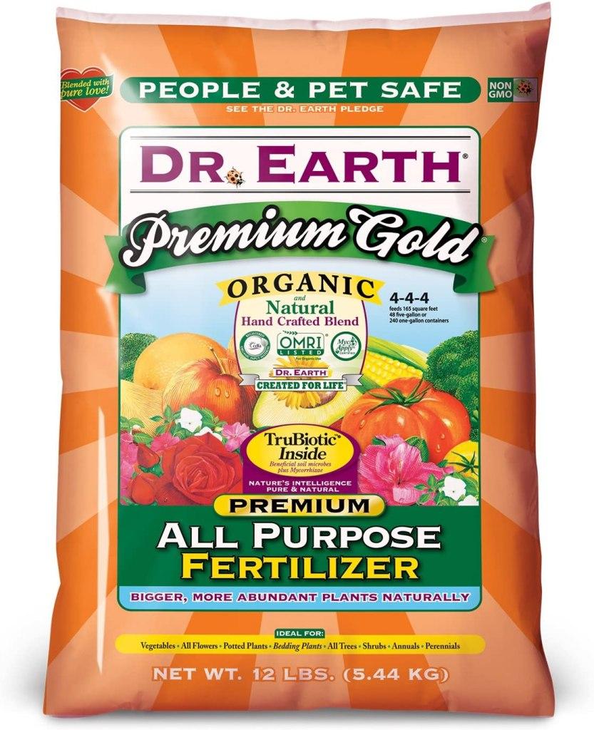 Doctor earth premium gold organic fertilizer all purpose