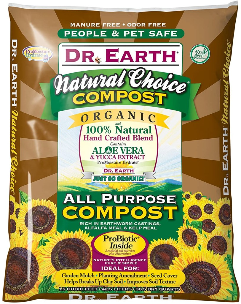 Doctor earth  all purpose compost soil mixture