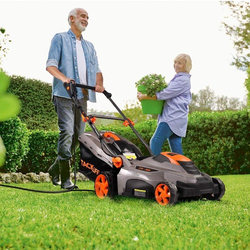 TACKLIFE Electric Lawn Mower