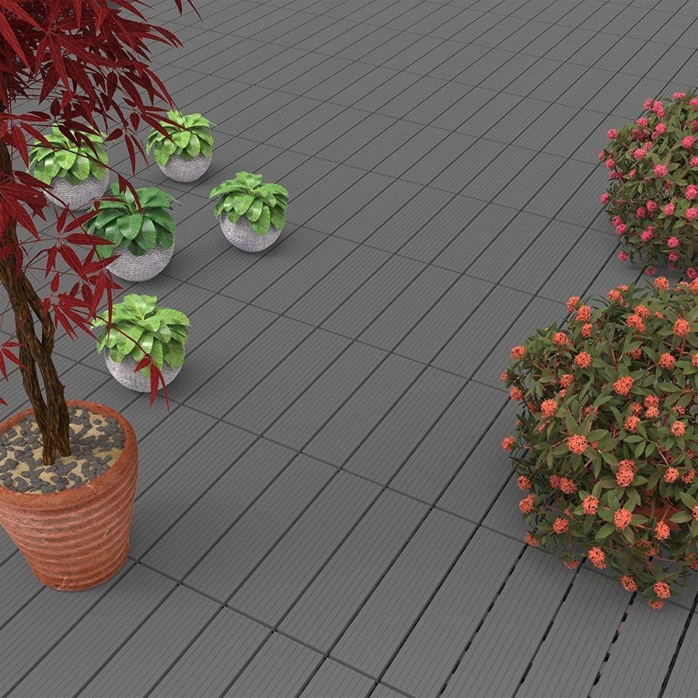 Pure Garden Patio and Deck Tiles