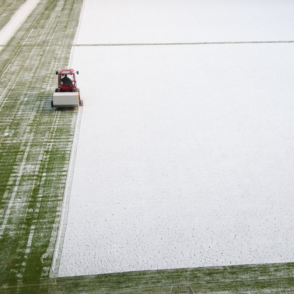 Get Rid Of Snow That Is Deep In Inches Above Your Turf