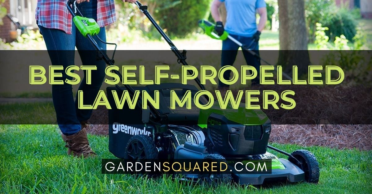 The Best Self Propelled Lawn Mowers