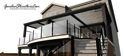 Modern deck design by gardenstructure.com