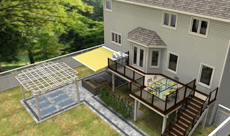 Deck design in 3D