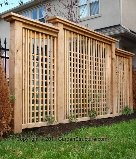 Privacy Lattice Fence