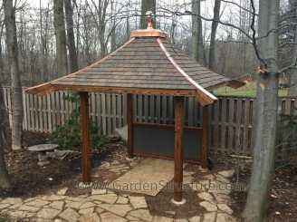 oriental garden roof 1