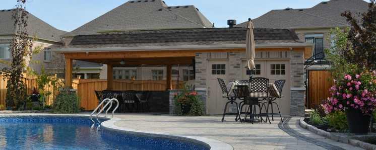 Vaughan pool house
