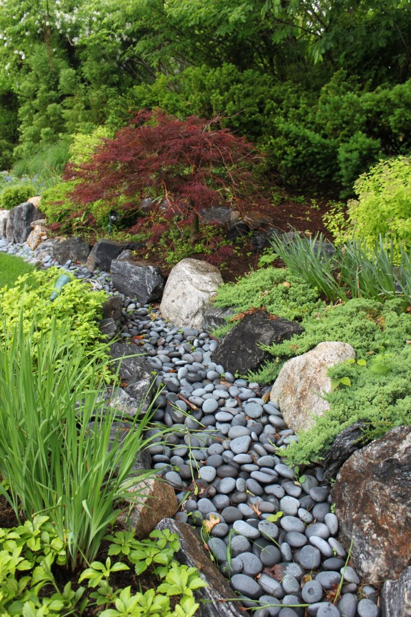 Smooth River Rocks Landscaping