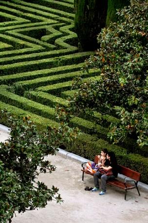 Sabatini Gardens, Madrid. Photo Carla Carvalho Tomas