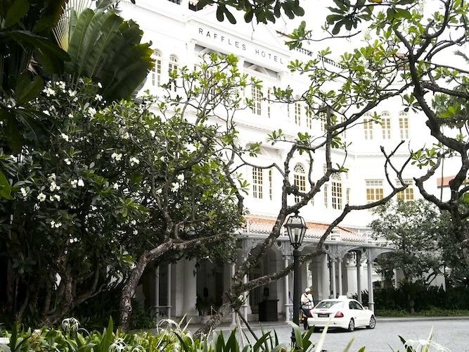 Tea at the Raffles Hotel Singapore
