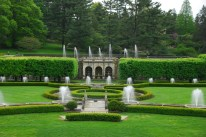 The fountains at Longwood Gardens, Brandywine Valley