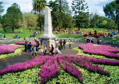 The colourful Toowoomba Carnival of Flowers