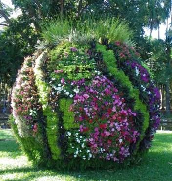 Floral displays at Tropical Garden Fair Darwin