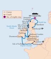 Botanica Cruise map BTBNC11