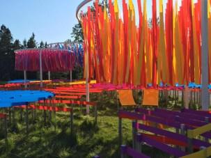 Line Garden 2014. Design Julia Jamrozik & Coryn Kempster. Photo Coryn Kempster.