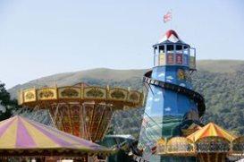 Malvern autumn fairground