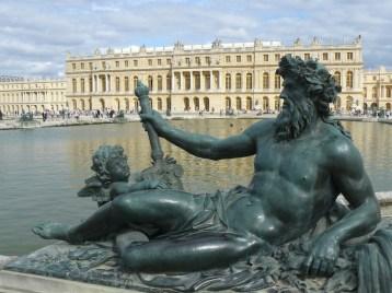 Versailles Neptune sur bassin