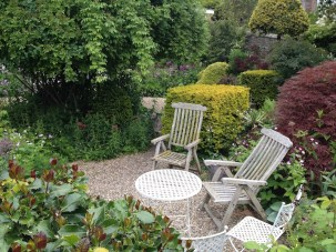 Millgate House summer garden 2