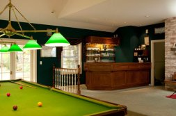 Anyone for snooker? Havelock House, Hawke's Bay NZ