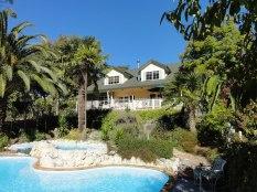 Swimming pool at Havelock House, Hawke's Bay NZ