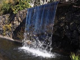 Waterfall in Blue Mountains Botanic Garden at Mount Tomah