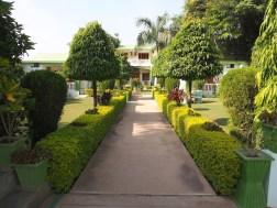 India Rajasthan hotel garden in Ranthambhore