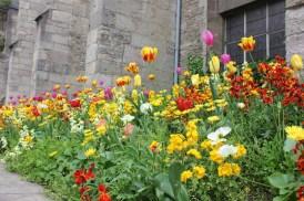 Flower-filled spring gardens in Europe