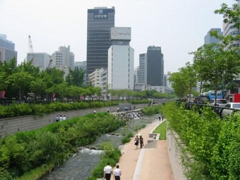 Korea Seoul Cheonggyecheon