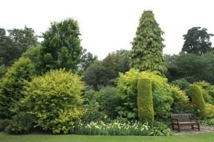 Gold garden in Crathes Castle Photo Janice Stewart