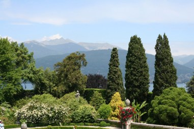 Italy - View from isola bella