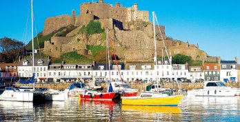Mont Orgueil Castle, Jersey, Channel Islands Courtesy: Jersey Image Library