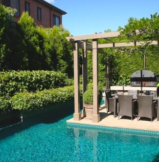 Kew, Melbourne garden. Design Eugene Gilligan