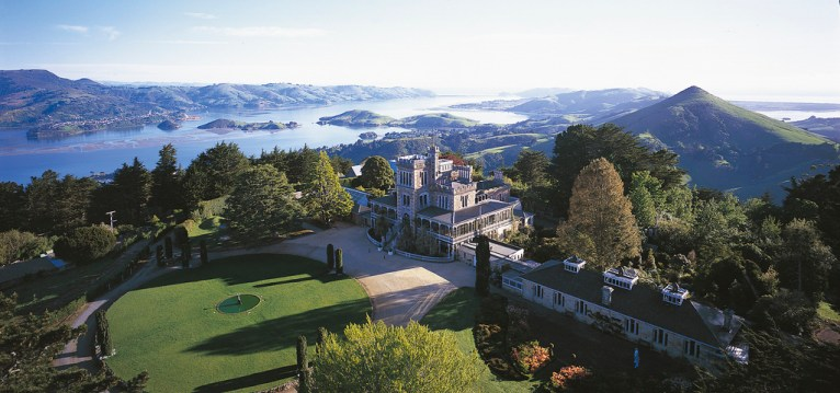 Larnach Castle, Dunedin New Zealand. Photo Dunedin NZ