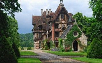 Manoir et Parc de Villers, St-Pierre de Manneville, France