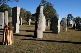 Standing Stones in Glen Innes, northern NSW
