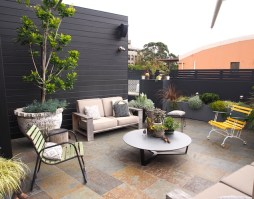 Inner city Sydney rooftop garden. Design Adam Robinson