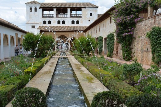 Gardens of the Alhambra, Granada, Spain