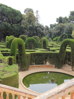 Horta Labyrinth Park, Spain. Photo Fiona Erisson