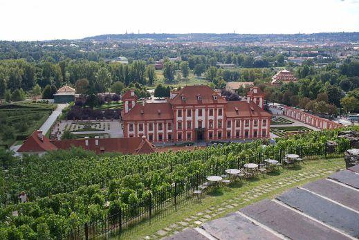 Troja Palace gardens, Prague. Photo Horakvlado