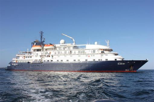 Our luxury cruise ship the Hebridean Sky