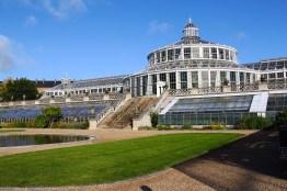 Conservatory in Copenhagen University Gardens, Denmark