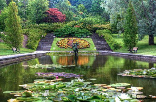 Göteborg Botanical Garden. Photo Michael Caven