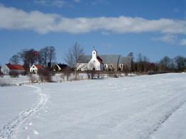 Winter in Todbjerg, Denmark