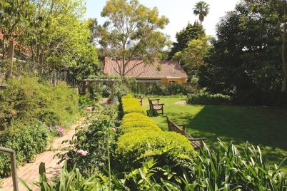 Garden at Nutcote, home of May Gibbs, Sydney