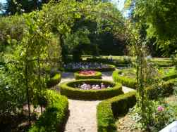 George Sand's Garden in Nohant. Photo SiefkinDR