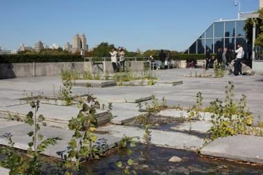 Rooftop garden at the Metropolitan Museum, New York